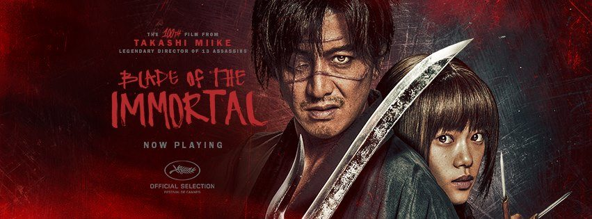 blade slide - Blade of the Immortal (Movie Review)