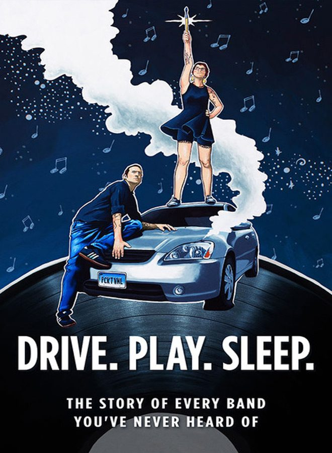 drive poster - Drive. Play. Sleep. (Movie Review)