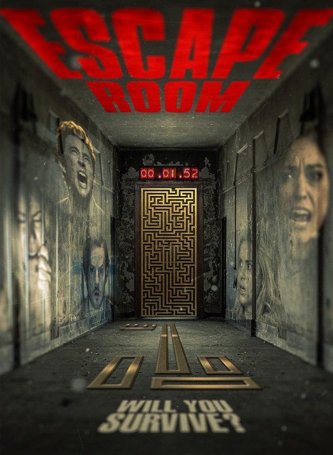 Escape Room Movie Review Cryptic Rock