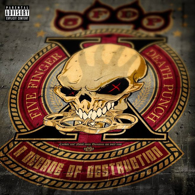 five finger - Five Finger Death Punch - A Decade of Destruction (Album Review)