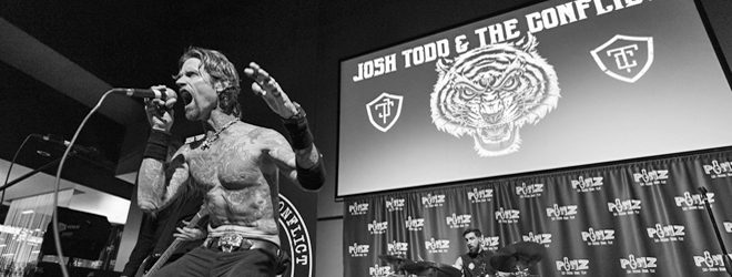 josh - Josh Todd & The Conflict Tear Through Kingston, MA 11-17-17