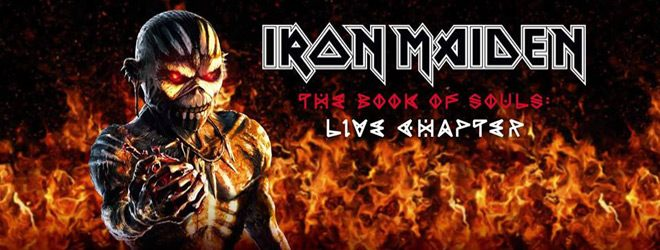 maiden live - Iron Maiden - The Book of Souls: Live Chapter (Album Review)
