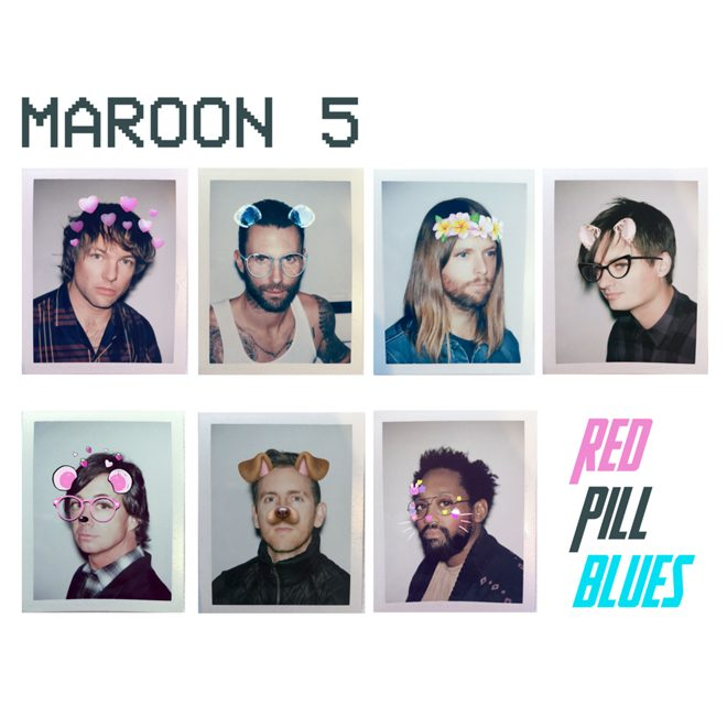 maroon 5 - Maroon 5 - Red Pill Blues (Album Review)