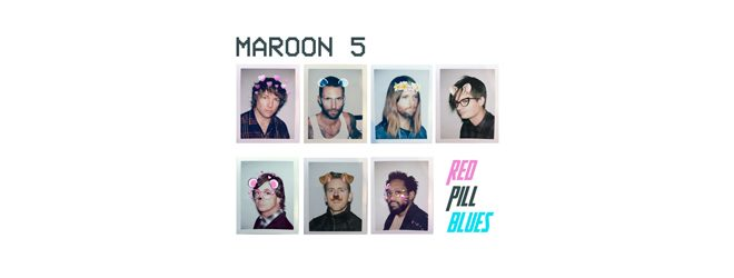 maroon slide - Maroon 5 - Red Pill Blues (Album Review)