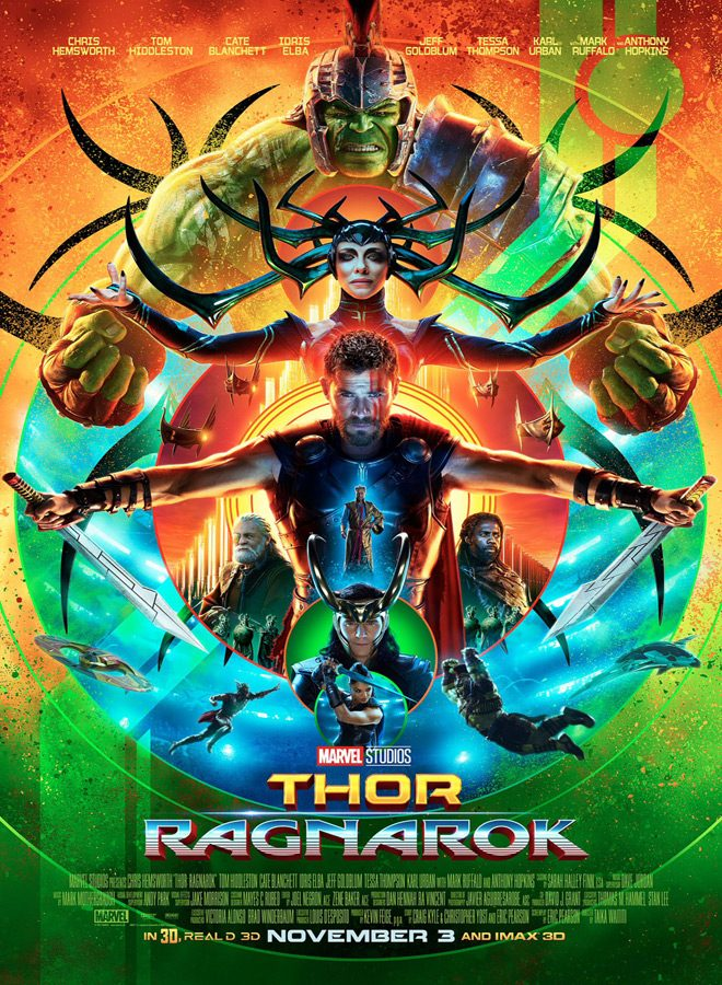 thor ragnarok poster main - Thor: Ragnarok (Movie Review)