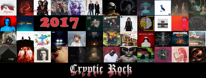 2017 album crypticrock slide - CrypticRock Presents: The Best Albums Of 2017
