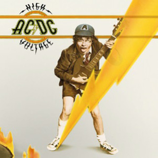 Acdc high voltage international album - Malcolm Young - Rock-n-Roll Salutes You