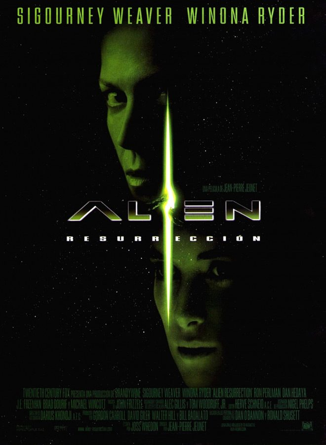 Alien Resurrection Poster - Alien: Resurrection - Revisiting The French-kissed Sequel 20 years later
