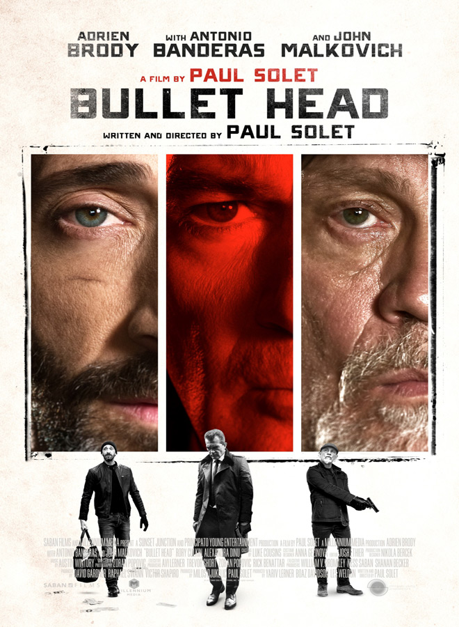 BULLET HEAD Poster - Interview - Paul Solet