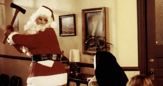 Silent Night Deadly Night copyright Tri Star Pictures - Yuletide Terror: Christmas Horror on Film and Television (Book Review)