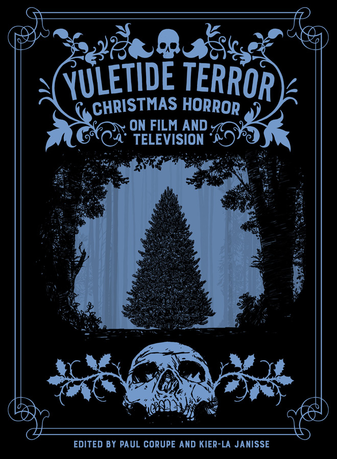 YULETIDE TERROR cover art by Alisdair Wood - Yuletide Terror: Christmas Horror on Film and Television (Book Review)