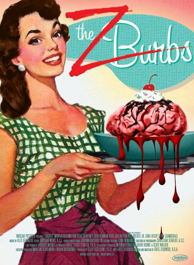 ZBurbs Movie Poster Greg Zekowski - Zburbs (Movie Review)