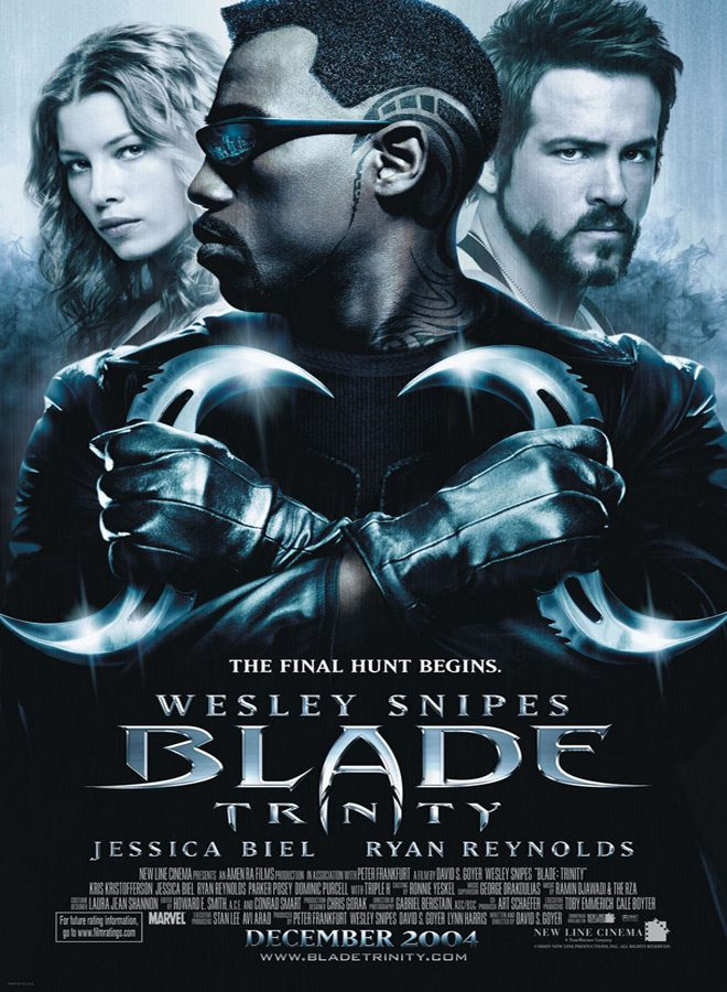 blade trinity ver2 xlg - This Week In Horror Movie History - Blade: Trinity (2004)