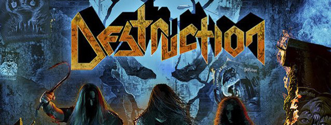 destruction slide - Destruction - Thrash Anthems II (Album Review)