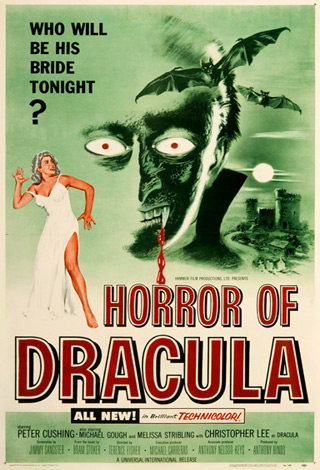 horror of dracula 1958 movie poster - Interview - Glenn Hughes