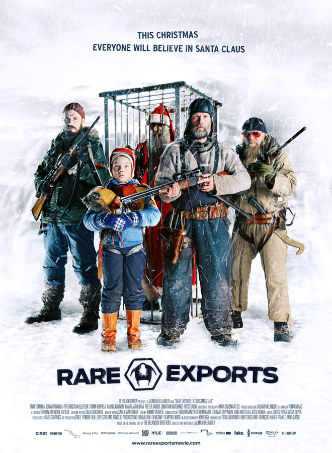 rare exports official poster en - Christmas Terror - 10 Horror-themed Christmas Flicks Worth Unwrapping