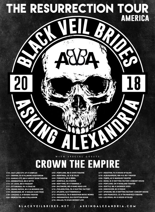 res tour - Interview - Ben Bruce of Asking Alexandria