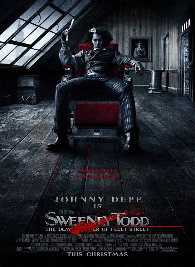 sweeney poster - Sweeney Todd - Razor Sharp 10 Year Later