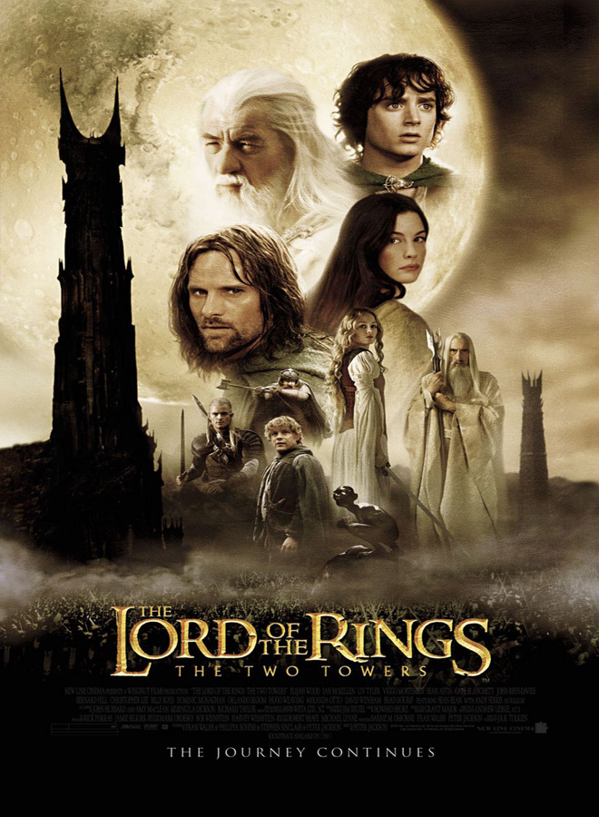 two towers poster - The Lord of the Rings: The Two Towers - 15 Years Of Wonder