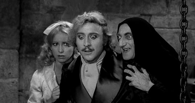 young 3 - This Week In Horror Movie History - Young Frankenstein (1974)