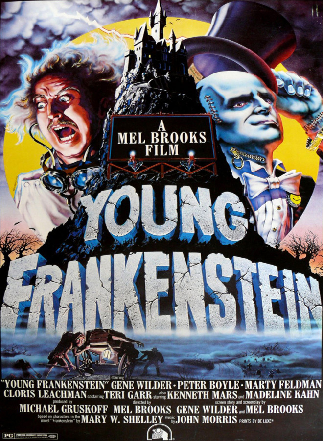 young poster - This Week In Horror Movie History - Young Frankenstein (1974)