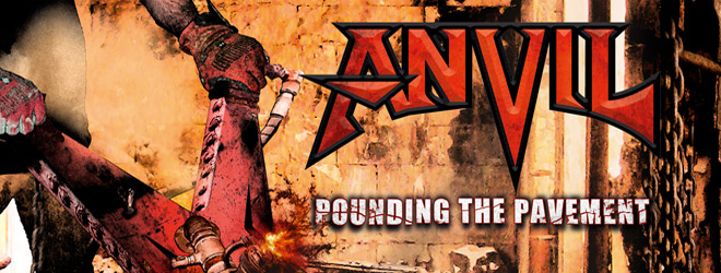 Anvil slide - Anvil - Pounding the Pavement (Album Review)