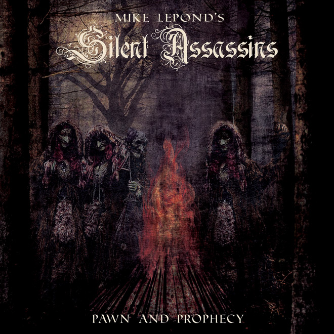 Mike Leponds Silent Assassins   pap COVER LOW - Mike Lepond's Silent Assassins - Pawn and Prophecy (Album Review)