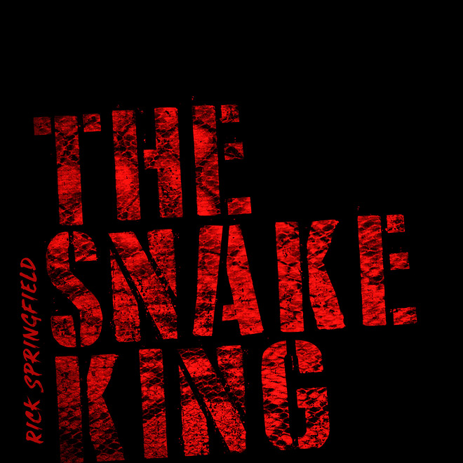 SnakeKing PrintCover lo - Rick Springfield - The Snake King (Album Review)