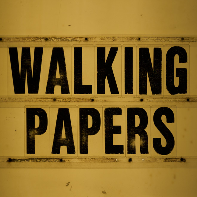 WalkingPapers WP2 Cover - Interview - Jeff Angell Talks The Return of Walking Papers