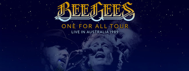 bee gees 1989 slide - Bee Gees One For All Tour Live In Australia 1989 (Live DVD Review)
