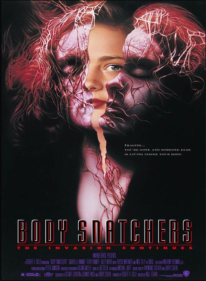 body poster - This Week In Horror Movie History - Body Snatchers (1994)