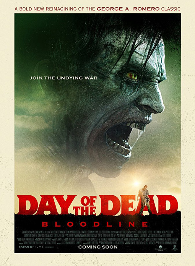 day poster - Day of the Dead: Bloodline (Movie Review)