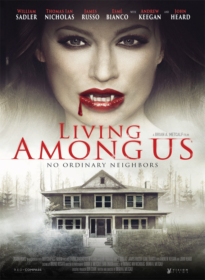 live poster - Living Among Us (Movie Review)