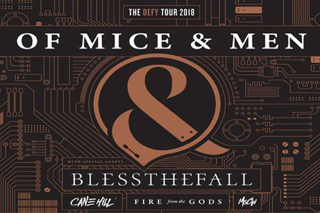 of mice poster - Interview - Tino Arteaga from Of Mice & Men Talks Defy