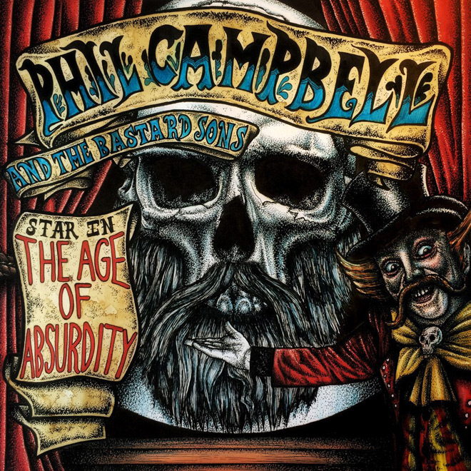 phil album 1 - Phil Campbell and the Bastard Sons - The Age of Absurdity (Album Review)