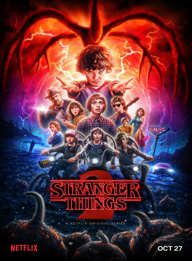 stranger things poster 1 - Stranger Things (Season 2 Review)