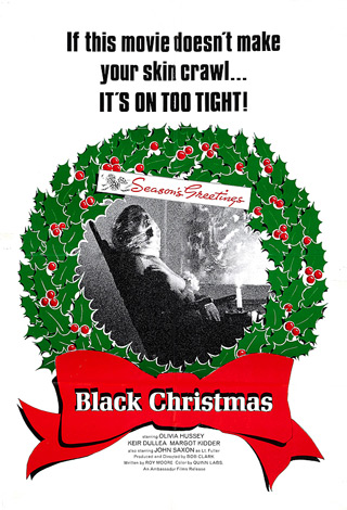 Black Christmas Poster small - Interview - Snow
