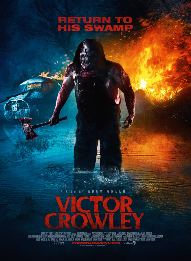 Victor Crowley INT 1Sheet - Victor Crowley (Movie Review)