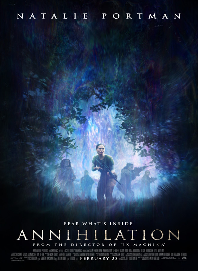 an poster - Annihilation (Movie Review)