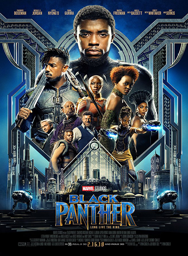black poster - Black Panther (Movie Review)