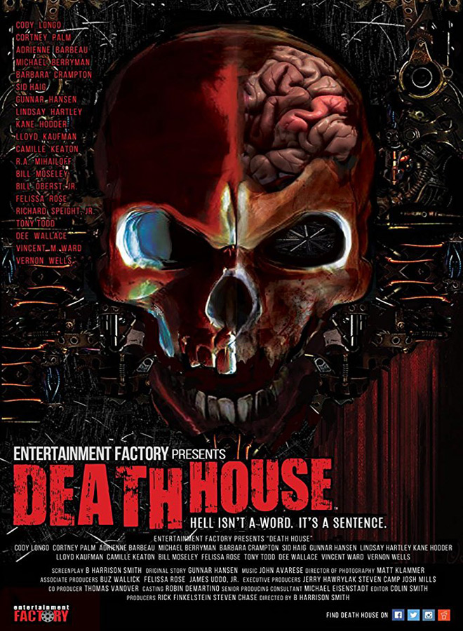 death house poster - Death House (Movie Review)