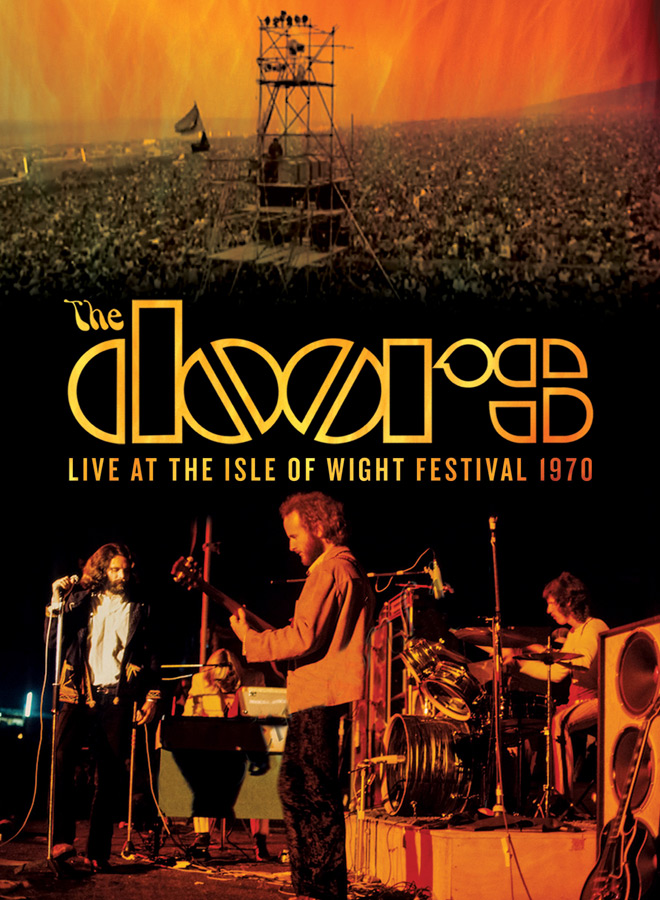 doors cover - The Doors - Live At The Isle Of Wight 1970 (Live DVD Review)