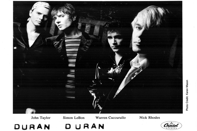duran promo 2 - Duran Duran - The Wedding Album 25 Years Later
