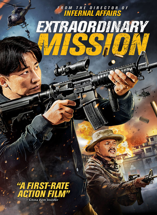 extraordinary mission poster - Extraordinary Mission (Movie Review)