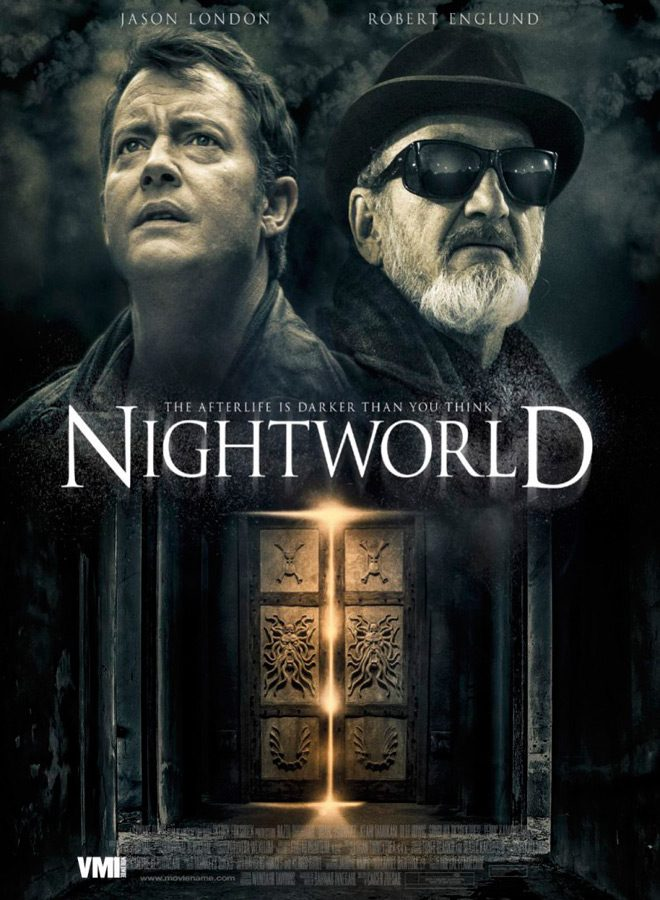 nightworld poster - Interview - Barry Keating