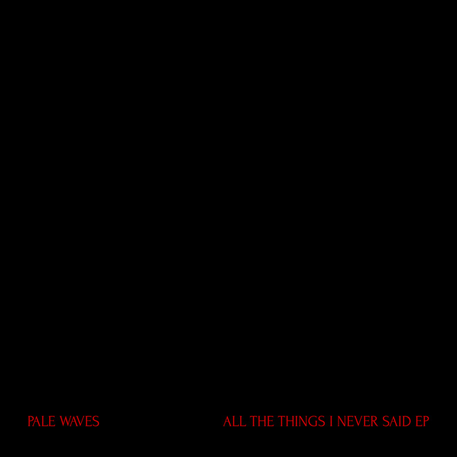pale - Pale Waves - All the Things I Never Said (EP Review)
