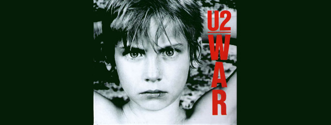 u2 war slide - U2 - War 35 Years Later