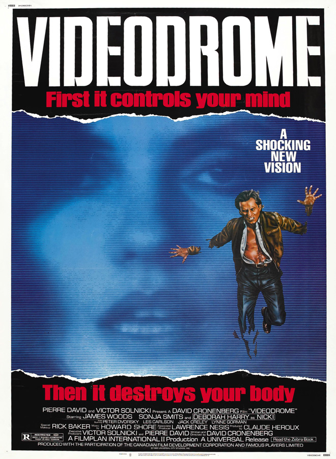 video poster - Videodrome - 35 Years Of The New Flesh...