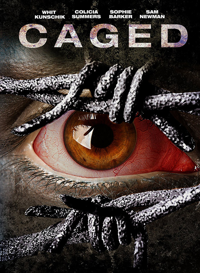 Caged poster - Caged (Movie Review)