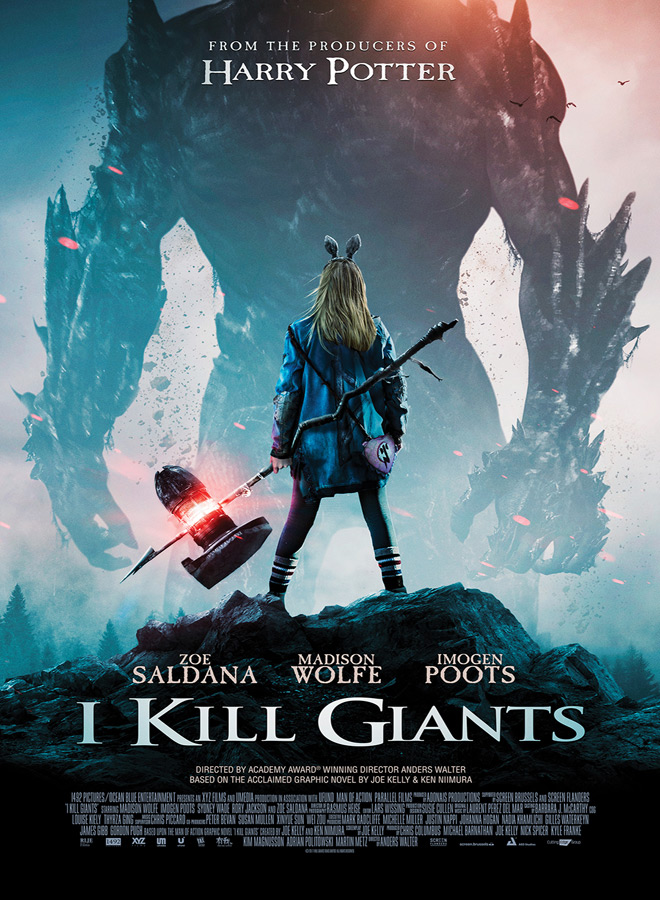 IKILLGIANTS Poster - I Kill Giants (Movie Review)